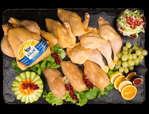 Überbackene Hähnchenfilets mit mediterranem Gemüse